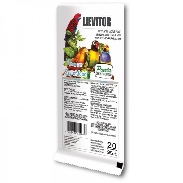 PINETA-nutrizionali-LIEVITOR active yeast 20g/φακελάκι