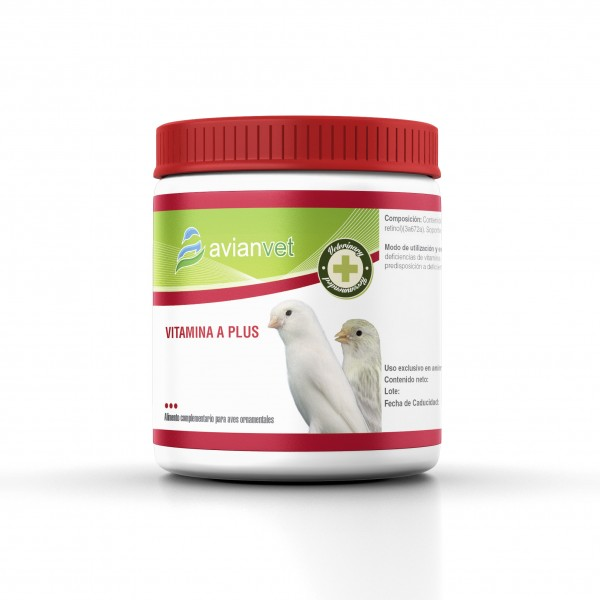 AVIANVET VITAMINA A PLUS 125gr