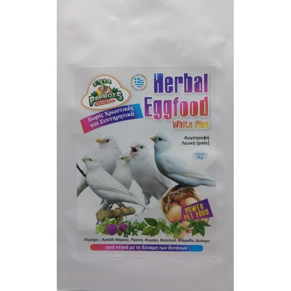 EVIA PARROTS Herbal eggfood white plus 250gr
