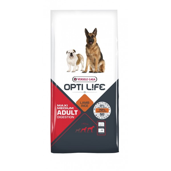 OPTI LIFE DIGESTION MEDIUM & MAXI 12,5Kg