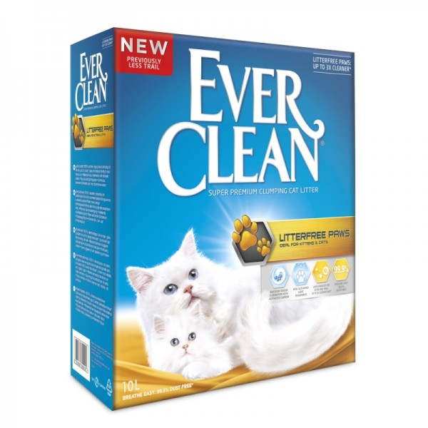 Everclean Litter Free Paws 10lt
